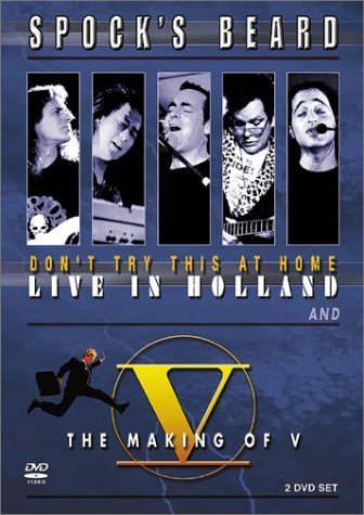 Don't Try This At Home: Live in Holland/The Making of V