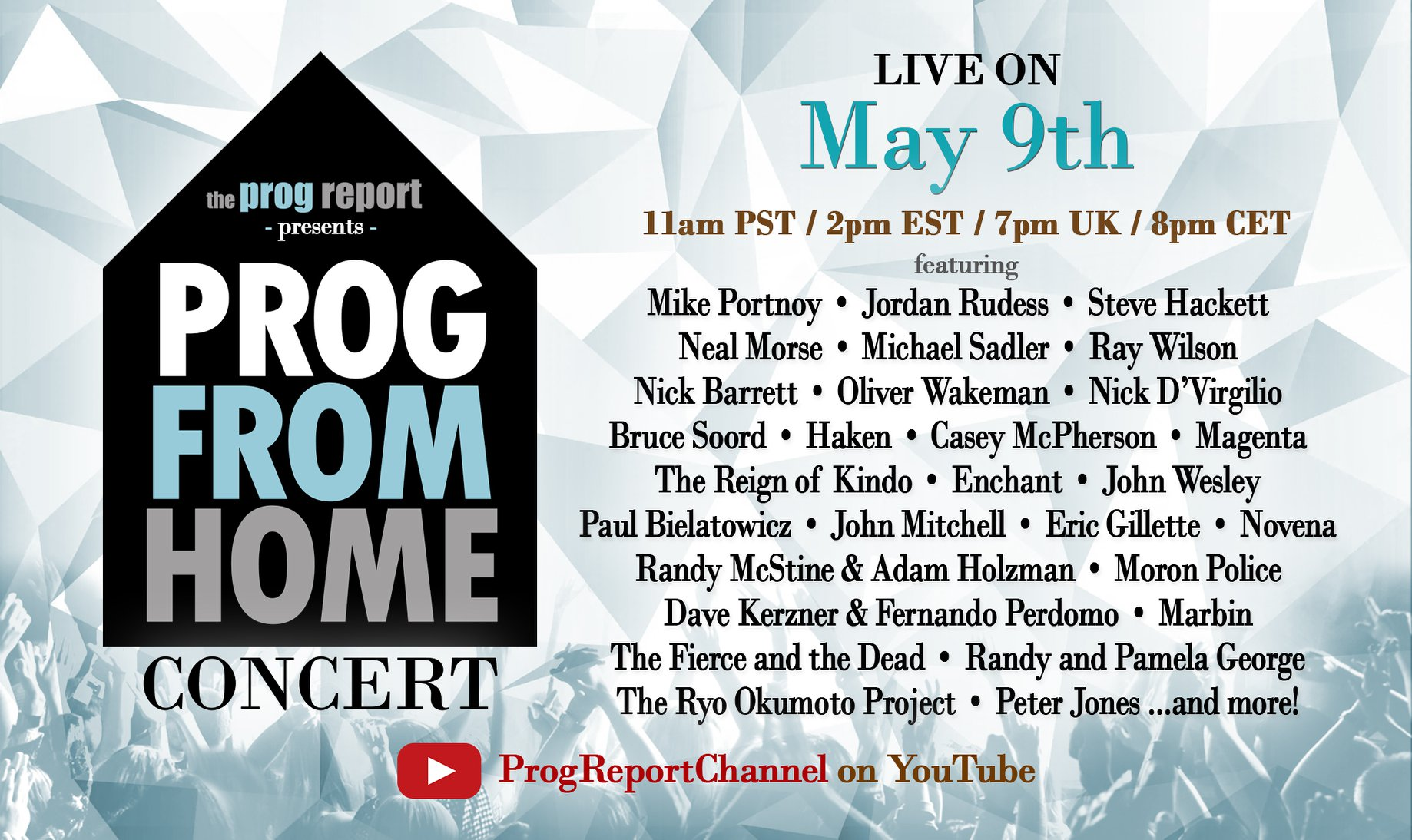 Prog From Home Streaming Concert
